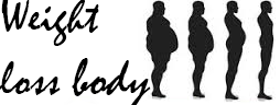 Weight loss body logo